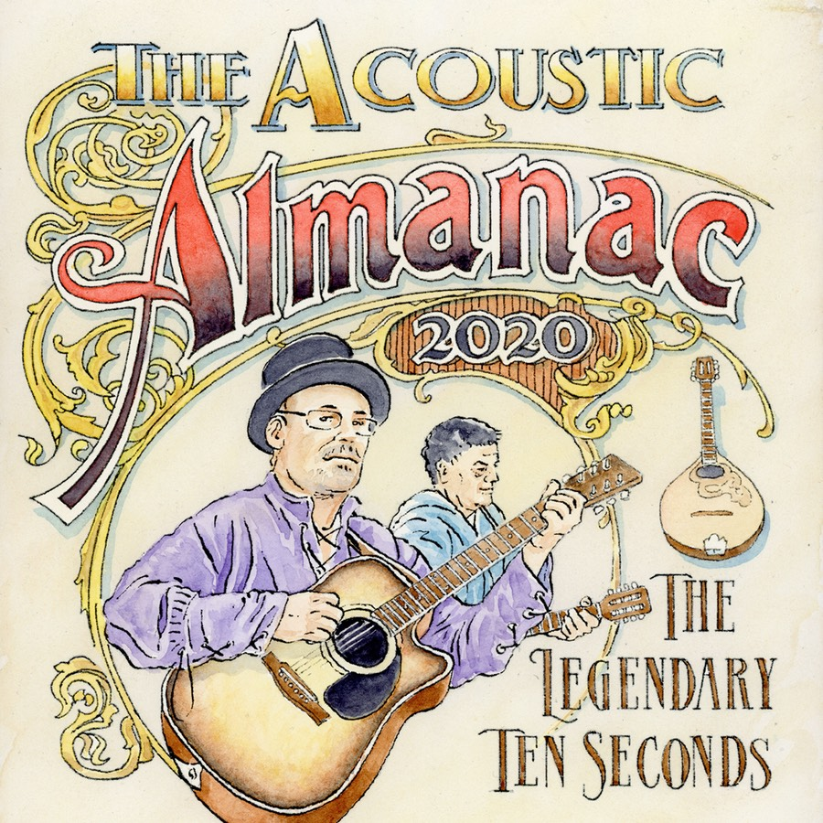ACOUSTIC ALMANAC album cover for CD Baby