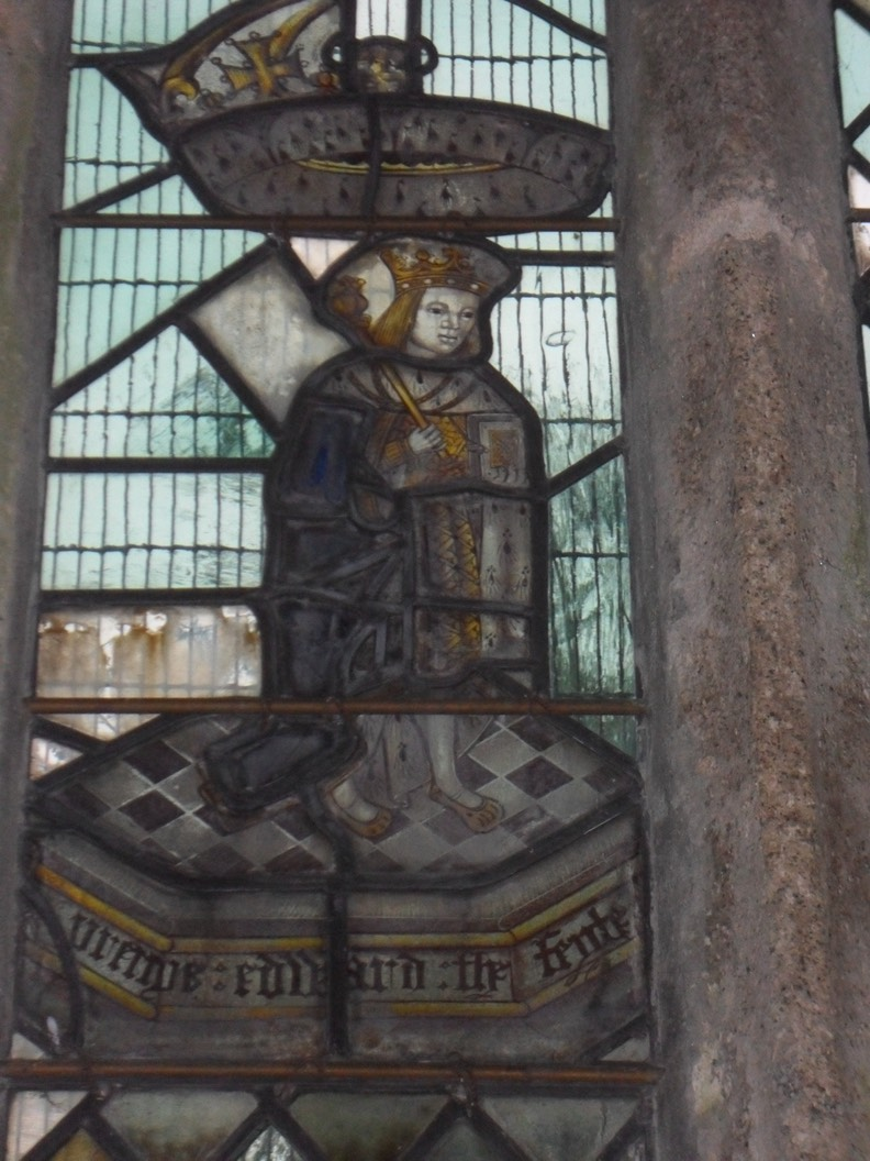 Edward V stained glass